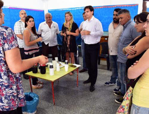 Galmarini entregó un subsidio al Jardín N° 911 de Villa Adelina